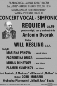 Soloists in Dvorak Requiem - Bacau