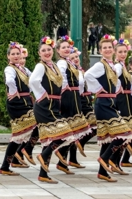 "Folk Ensemble Zarya at 75th International folk festival ""Mandorlo in Fiore"", Sicily"